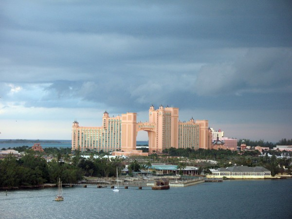 Atlantis resort on Paradise Island